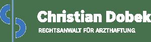 Christian Dobek – Rechtsanwalt für Arzthaftung Logo