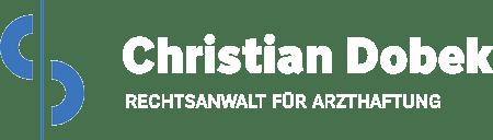 Arzthaftung – Rechtsanwalt Christian Dobek Logo